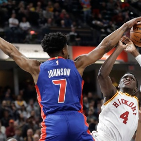 Stephenson rallies Pacers from 22 down past Pistons 107-100