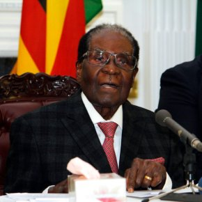 The Latest: Ruling party says Mugabe impeachment to go ahead