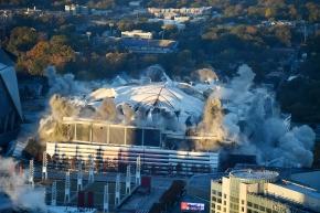 3-2-1, BAM! Georgia Dome imploded in downtownAtlanta