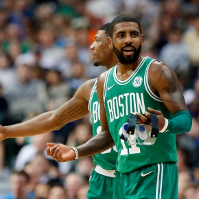 Irving's 47 lead Celtics past Mavericks to maintain streak