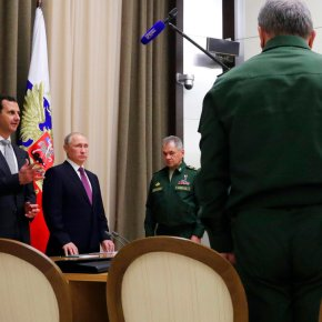 The Latest: Putin calls Saudi king to discussSyria