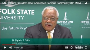 BOV names Vice Rector Stith interim president (video included)