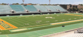 There's new turf in town at NSU stadium