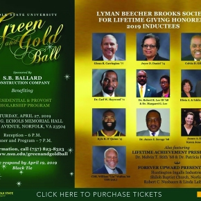 NSU to induct 13 honorees into Lyman Beecher Brooks Society at Green and Gold Ball, Actor J.B. Smoove to emcee event