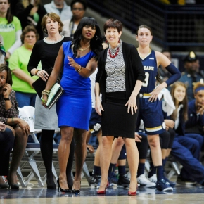 Where are the women coaching NCAA sports?