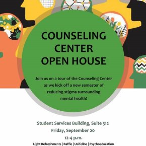 Counseling Center Open House fights stigma surrounding mental health